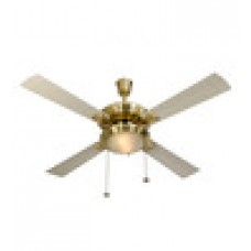 Deals, Discounts & Offers on Electronics - Usha Fontana One Gold Ivory Ceiling Fan with Light