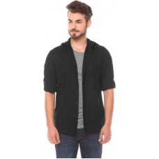 Deals, Discounts & Offers on Men Clothing - Flat 30% off on Shuffle Men's Solid Casual Shirt
