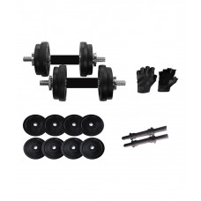 Deals, Discounts & Offers on Personal Care Appliances - Total Home Gym 15 Kg Gym Adjustable Dumbell