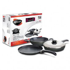 Deals, Discounts & Offers on Home Appliances - Nirlep Non-Stick Induction Compatible Gift Set, 4-Pieces