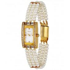 Deals, Discounts & Offers on Women - Oleva White Pearl Analog Wrist Watch for Women