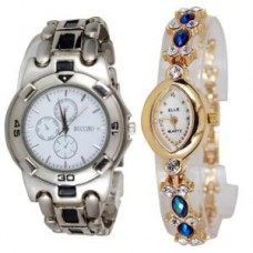 Deals, Discounts & Offers on Men - New Stylish 2 Watches For Men & Women