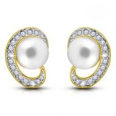 Deals, Discounts & Offers on Earings and Necklace - Flat 37% off on Shriya Pearl Earring Set
