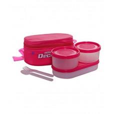 Deals, Discounts & Offers on Kitchen Containers - Milton Double Decker Tiffin Set