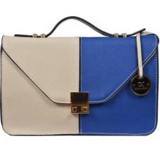Deals, Discounts & Offers on Women - Diana Korr Women, Girls Casual Blue PU Sling Bag