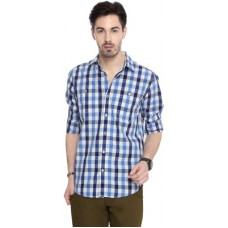 Deals, Discounts & Offers on Men Clothing - People Men's Checkered Casual Shirt