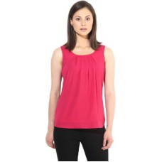 Deals, Discounts & Offers on Women Clothing - The Vanca Formal Sleeveless Solid Women's Top