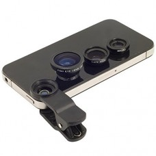 Deals, Discounts & Offers on Mobile Accessories - Flat 85% off on Universal 3 in 1 Mobile Camera Lens