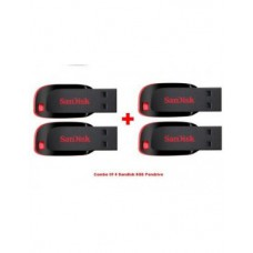 Deals, Discounts & Offers on Computers & Peripherals - Combo Of 4 Sandisk 8GB Cruzer Blade Pendrive
