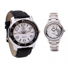 Deals, Discounts & Offers on Men - Roland Couple Watches