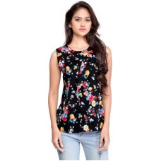 Deals, Discounts & Offers on Women Clothing - Ossi Casual Sleeveless Floral Print Women's Top