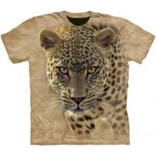 Deals, Discounts & Offers on Men Clothing - Swarnim Brick Leapord Round Neck Tshirt