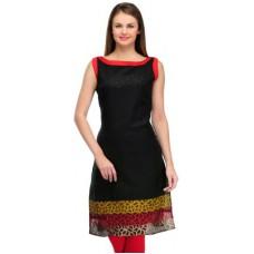 Deals, Discounts & Offers on Women Clothing - Cenizas Casual Self Design Women's Kurti