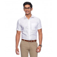 Deals, Discounts & Offers on Men Clothing - John Players White Formals Shirt