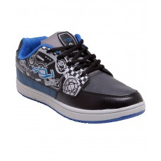 Deals, Discounts & Offers on Foot Wear - Lancer Black and Blue Lifestyle Sports Shoes