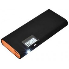 Deals, Discounts & Offers on Power Banks - Premium 12000mah Power Bank Dual USB Port With Torch & Display Indicate