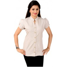 Deals, Discounts & Offers on Women Clothing - Jazzy Ben Women's Solid Formal Shirt