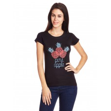 Deals, Discounts & Offers on Women Clothing - Velvet Women's Graphic Print T-Shirt