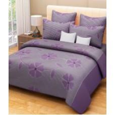 Deals, Discounts & Offers on Home Appliances - Home Decor Cotton Floral Double Bedsheet