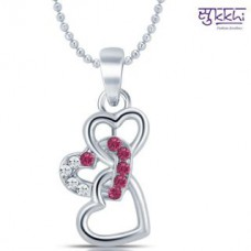 Deals, Discounts & Offers on Earings and Necklace - Flat 90% off on Heart Pendant with Chain