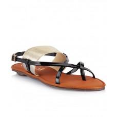 Deals, Discounts & Offers on Foot Wear - Catwalk Black Flat Slip-Ons