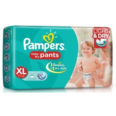 Deals, Discounts & Offers on Baby Care - Pampers Extra Large Size Diaper Pants