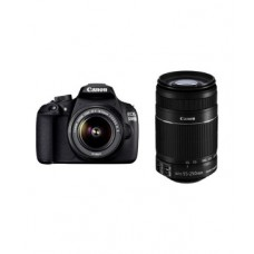 Deals, Discounts & Offers on Cameras - Canon EOS 1200D with 18-55mm + 55-250mm Lens