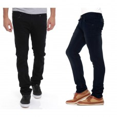 Deals, Discounts & Offers on Men Clothing - 73% off on Stylox Set of 2 Men's Denim Jeans - Rs. 699 + Shipping Charges Rs. 50