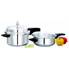 Deals, Discounts & Offers on Home Appliances - Mahavir 5.0 L Pressure Cooker
