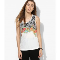 Deals, Discounts & Offers on Women Clothing - Flat 61% off on Vero Moda White Top