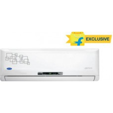 Deals, Discounts & Offers on Electronics - Carrier 1 Tons 3 Star Split AC White