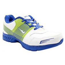 Deals, Discounts & Offers on Foot Wear - Shoe Mate White & Blue Men Sports Shoes