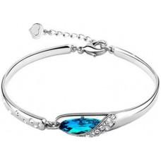 Deals, Discounts & Offers on Women - Cyan Alloy Bracelet offer in deals of the day