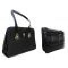 Deals, Discounts & Offers on Accessories - Estoss Buy 1 Get 1 - Black Handbag