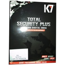 Deals, Discounts & Offers on Computers & Peripherals - K7 Total Security Plus Family Pack 3 PC & 4 Android Mobile 1 Year Full Protection.