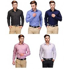 Deals, Discounts & Offers on Men Clothing - Koolpals Combo Of 5 Cotton Men Shirts