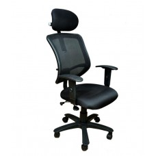 Deals, Discounts & Offers on Furniture - Ronan High Back Office Chair with Adjustable Headrest & Armrest