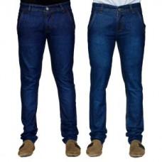 Deals, Discounts & Offers on Men Clothing - JOVIAL MART DENIM JEANS 2 DARK BLUE JEANS