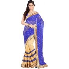 Deals, Discounts & Offers on Women Clothing - Hitansh Fashion Printed Fashion Georgette Sari