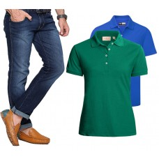 Deals, Discounts & Offers on Men Clothing - Combo Of Firk Mens 1 Jeans And 2 Solid T Shirts