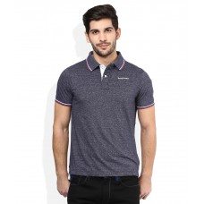 Deals, Discounts & Offers on Men Clothing - Being Human Navy Polo T-Shirt