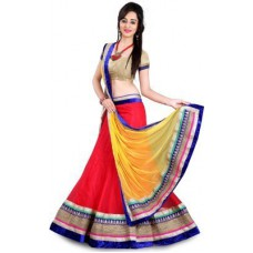 Deals, Discounts & Offers on Women Clothing - Hitesh Enterprise Embroidered Women's Ghagra Choli