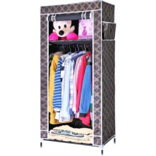 Deals, Discounts & Offers on Home Decor & Festive Needs - Evana Carbon Steel Collapsible Wardrobe