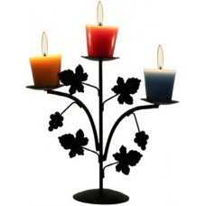 Deals, Discounts & Offers on Home Decor & Festive Needs - Aesthetic Decors Iron 3 - Cup Candle Holder