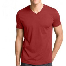 Deals, Discounts & Offers on Men Clothing - Vogue Solid Men's V-neck T-Shirt