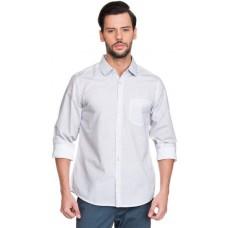 Deals, Discounts & Offers on Men Clothing - Zovi Blue Cotton Regular Fit Casual Shirt