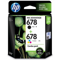 Deals, Discounts & Offers on Computers & Peripherals - HP 678 Black and Tricolor Ink Combo Pack