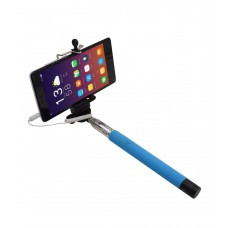 Deals, Discounts & Offers on Mobile Accessories - Selfie Stick Blue Monopods Shooting Accessories
