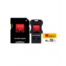 Deals, Discounts & Offers on Mobile Accessories - Strontium 32GB Nitro Micro SD Card 70MB/S (3in1)