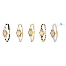 Deals, Discounts & Offers on Women - Oleva Pack of 5 Pearl Watches